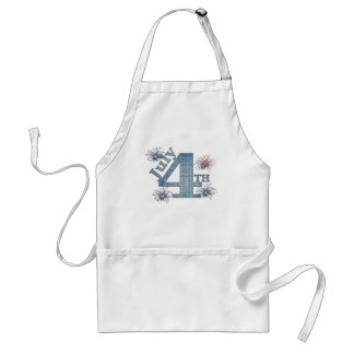 July 4th adult apron