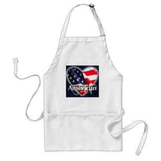 july 4th america party time! adult apron