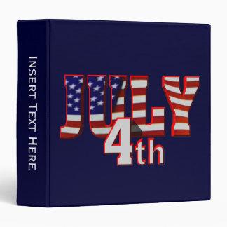 July 4th Avery Binder