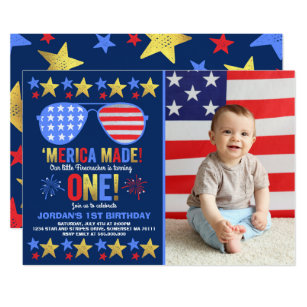 4th of july birthday invitations thevillas co
