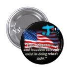 July 4th Button Pins (Black)
