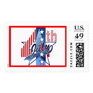 JULY 4th by SHARON SHARPE Postage