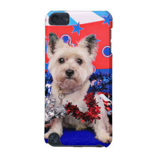 July 4th - Cairn Terrier - Roxy iPod Touch 5G Case