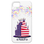 July 4th Cake iPhone 5 Barely There Case iPhone 5 Cases