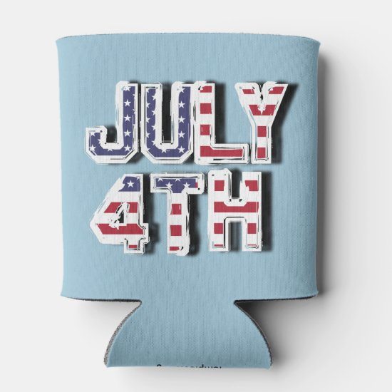 July 4th can cooler