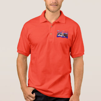 July 4th - Cavaliers - Rosie Poppy SweetPea Polo Shirt