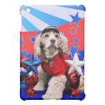 July 4th - Cocker Spaniel - Dutchie Sue iPad Mini Cover