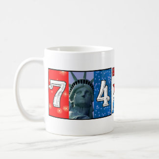 July 4th coffee mug