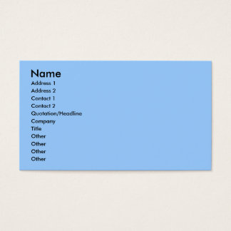 July 4th - Coton de Tulear - Claire Business Card