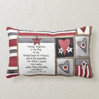 JULY 4th DECOR Lumbar Pillow