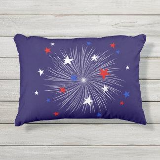 "July 4th Decor Pillow, Outdoor Pillow 16"" x 12"""