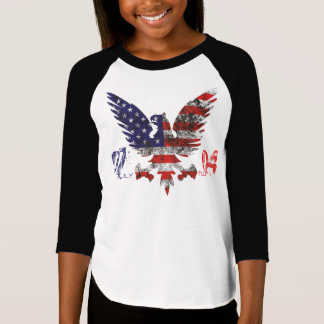 July 4th design for young girl! T-Shirt