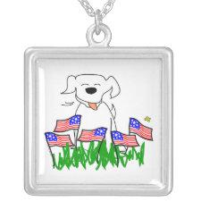 July 4th Dog Jewelry
