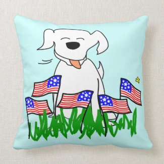 July 4th Throw Pillows