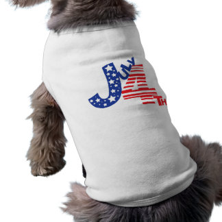 July 4th Doggy Style Doggie Tee