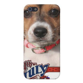 July 4th Firecracker - Beagle Puppy Covers For iPhone 5