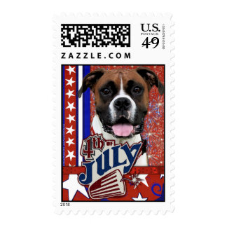 July 4th Firecracker - Boxer Stamps