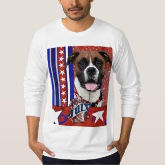 July 4th Firecracker - Boxer - Vindy T-Shirt