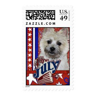 July 4th Firecracker - Cairn Light - TeddyBear Stamp
