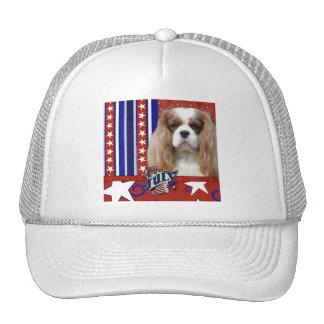 July 4th Firecracker - Cavalier - Blenheim Trucker Hat