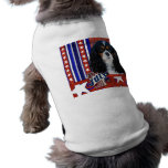 July 4th Firecracker - Cavalier - Tri-color Dog T-shirt