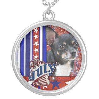 July 4th Firecracker - Chihuahua - Isabella Pendants