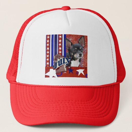 July 4th Firecracker - Chihuahua Trucker Hat