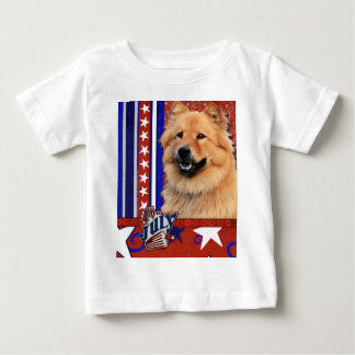 July 4th Firecracker - Chow Chow - Cinny Baby T-Shirt