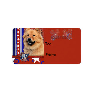 July 4th Firecracker - Chow Chow - Cinny Label