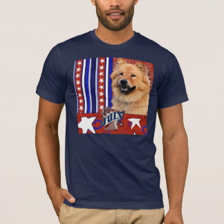 July 4th Firecracker - Chow Chow - Cinny T-Shirt