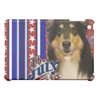 July 4th Firecracker - Collie - Caroline iPad Mini Cases