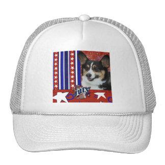July 4th Firecracker - Corgi Trucker Hat