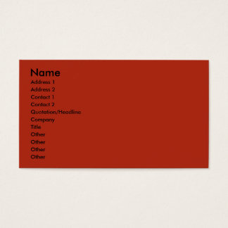 July 4th Firecracker - Coton de Tulear Business Card