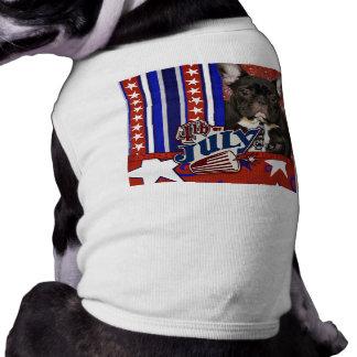 July 4th Firecracker - French Bulldog Doggie Tee