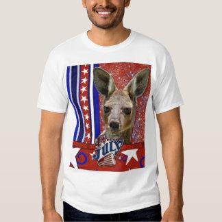 July 4th Firecracker - Kangaroo Tee Shirt