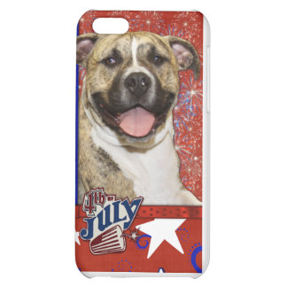 July 4th Firecracker - Pitbull - Tigger Cover For iPhone 5C