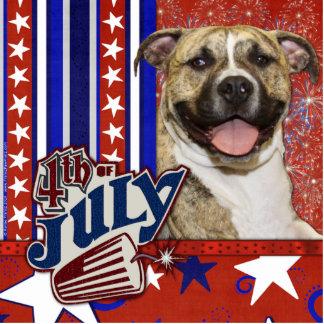 July 4th Firecracker - Pitbull - Tigger Statuette