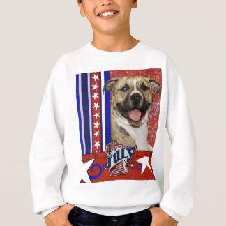 July 4th Firecracker - Pitbull - Tigger Sweatshirt