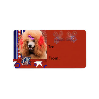 July 4th Firecracker - Poodle - Red Label
