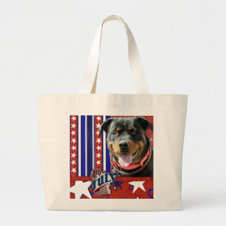 July 4th Firecracker - Rottweiler - SambaParTi Tote Bag