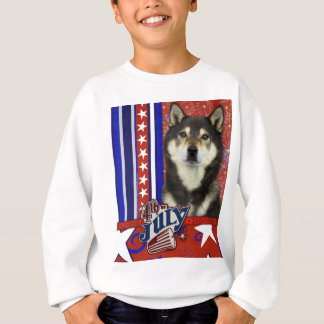 July 4th Firecracker - Shiba Inu - Yasha Sweatshirt