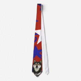 July 4th Firecracker - Shiba Inu - Yasha Tie
