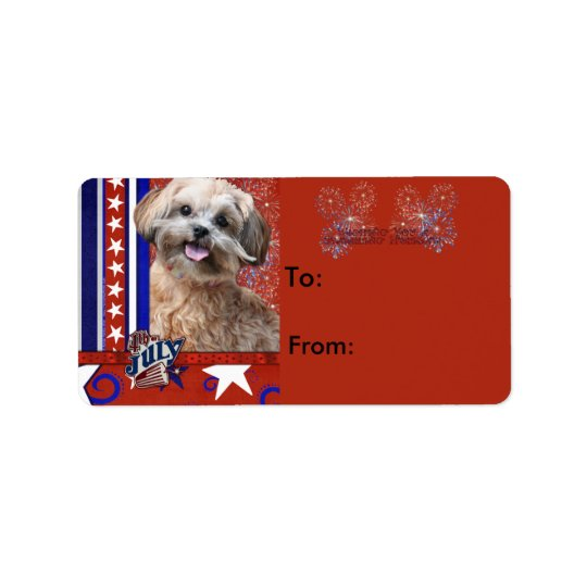 July 4th Firecracker - ShihPoo - Maggie Label