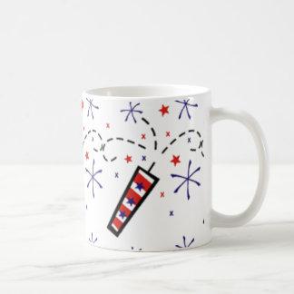 July 4th Fireworks Coffee Mug