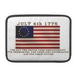 July 4th Flag MacBook Sleeve