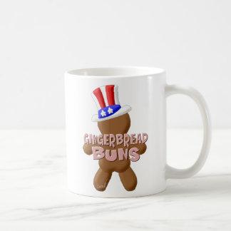 July 4th Gingerbread Buns Coffee Mug
