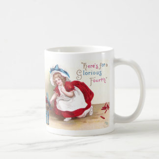 July 4th Girl and Toy Soldiers Mug