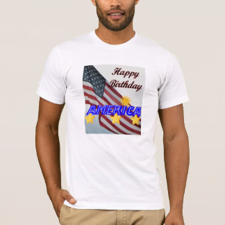 July 4th Happy Birthday America T-Shirt