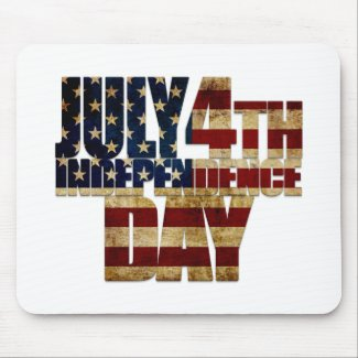 July 4th Independence Day 002 Mouse Pad