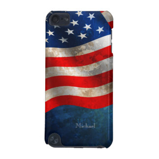 July 4th Independence Day America Grunge Flag iPod iPod Touch (5th Generation) Cover